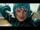Супермен против Фаоры Ху-Ул и её напарника. Битва в городе (2 часть из 2). Человек из стали