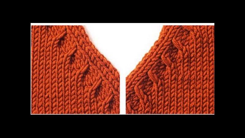 Learn to Knit a Raglan حردة الرجلان