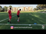 COACHING passing, 1st touch & awareness | Joner 1on1 | Soccer | Football