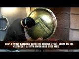 Weathering a shield from the movie 300