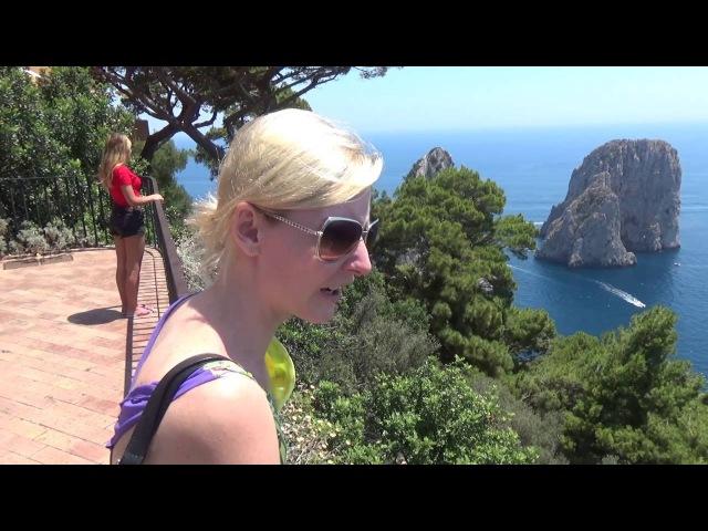 Италия остров Капри: обзор города Капри и достопримечательностей - часть 10 Авиа...