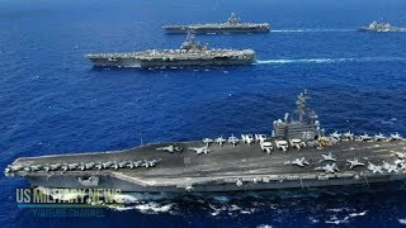 What 3 US Supercarriers in the Asia-Pacific Means for N. Korea