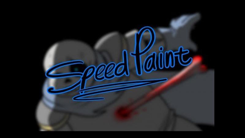 REDRAW SpeedPaint [UnderSwap Sans/UNDERVERSE]