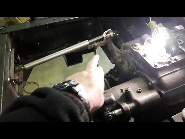 ГАЗ-66 пневмопривод ручного тормоза