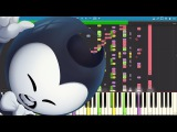 IMPOSSIBLE REMIX - Bendy and the Ink Machine Rap - Can't Be Erased - JT Machinima - Piano Cover