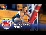 Kacy Catanzaro at the San Antonio Finals - American Ninja Warrior 2017