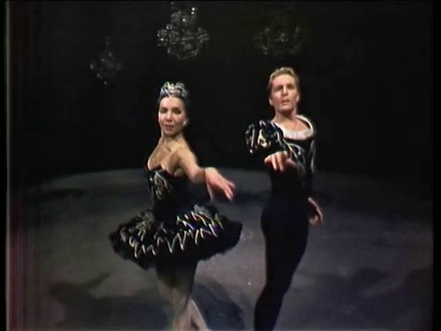 Sonia Arova Erik Bruhn Black Swan Pas de Deux