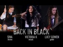 Back In Black (AC/DC) cover by Victoria K, Lucy Gowen, Sina