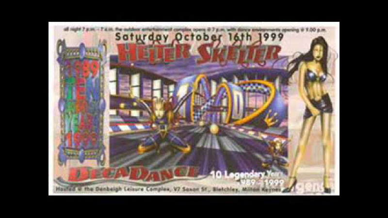 Mickey Finn Brockie old skool set Helter Skelter Decadance 1999