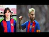 Lionel Messi from 1 to 30 Years old