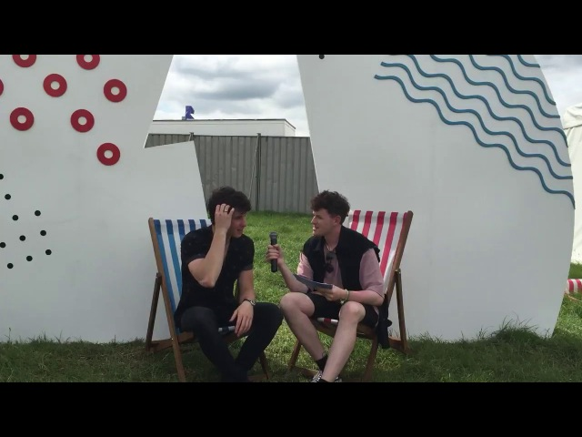 Shawn Mendes interview at the Big Weekend (28/05/2017)