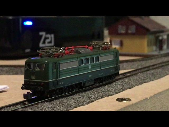 BR 151 Digital - Fahreigenschaften Fahrvideo   🚂 Märklin Spur Z mini-club