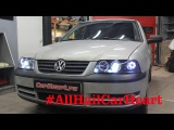 Volkswagen Pointer, установка бидиодных линз Optima