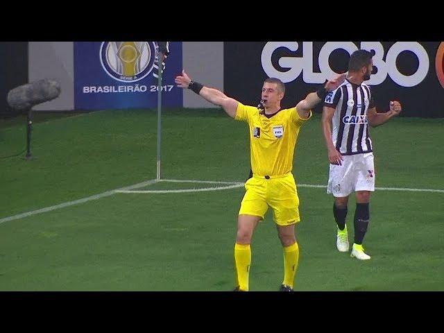 NÃO VALEU: Pedro Henrique marca, mas o árbitro anota impedimento de Romero no lance