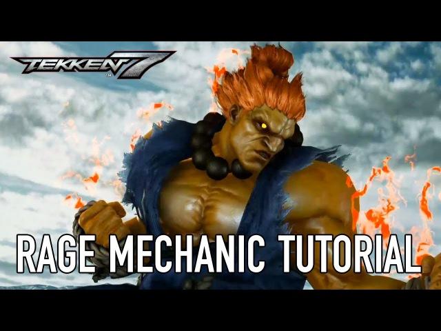 Tekken 7 - PS4/XB1/PC - Rage Art and Rage Drive (Tutorial Video)