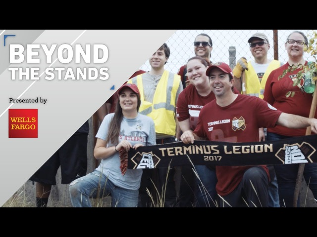 Terminus Legion dirties hands to beautify Atlanta | Beyond the Stands pres. by Wells Fargo