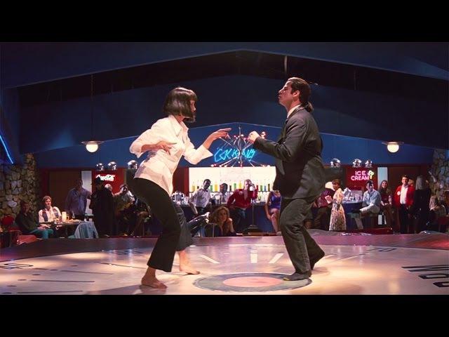 Культовый танец Криминальное чтиво 1994 сцена 5 12 QFHD
