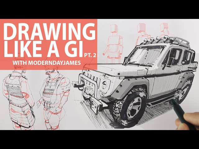 BECOMING A GI II Drawing in curvilinear perspective