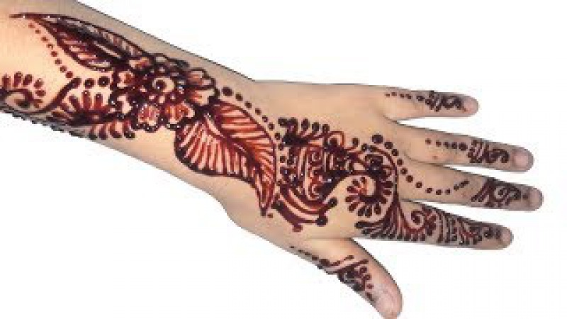 Mehndi Designs for Full Hands Step by Step Tutorial || Full Hand Henna Mehndi Designs