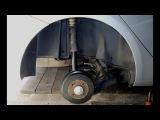 Lada Vesta. Подкрылки  Снятие, оклейка, установка