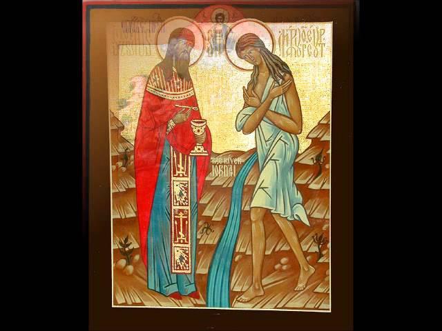 Преподобной Марии Египетской.Валерий Малышев