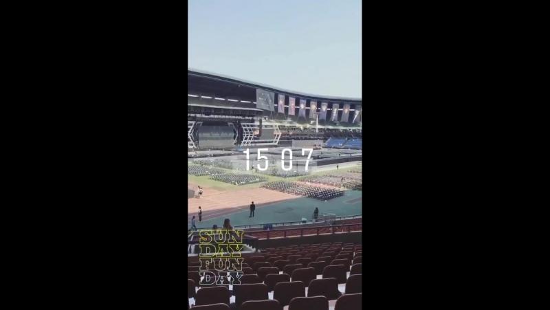 170528 EXO XIUMIN @ EXO'rDIUM in Seoul dot