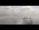 BMW M5 e60 drifting burnout donuts sound