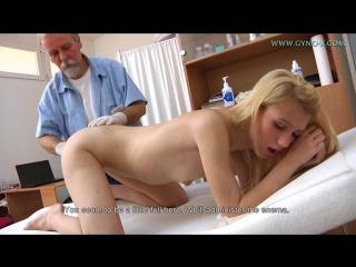 Gyno-x bea [medical fetish, gyno exam, close ups, anal & vaginal enema, blonde, tampon, piss]