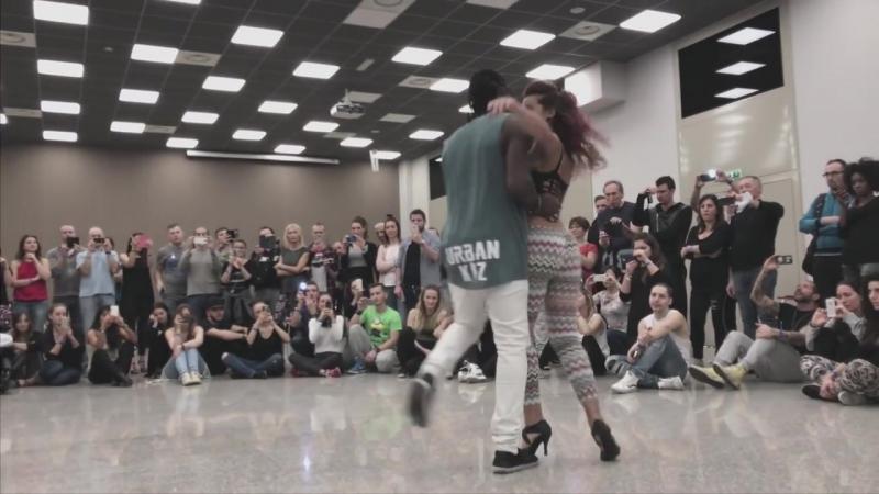 Enah Marta Urban Kiz Dance @ KIZMI 2016 Dimello Lose Control