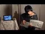 Evan Kales Page built a 400 key MIDI
