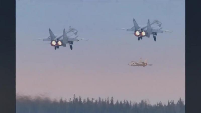 МиГ 31 _ Foxhound (Лисья гончая)