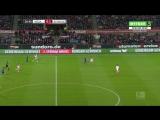 Чемпионат Германии 2016-17  21 тур  Кёльн  Шальке-04  1 тайм