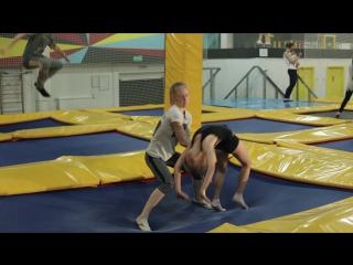 Акробатика для детей в Hero Park