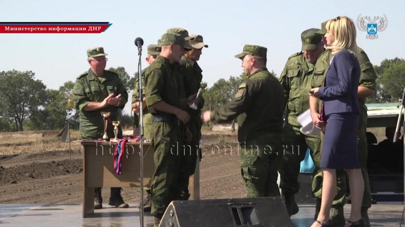 В финале танкового биатлона одержал победу экипаж ВС ЛНР