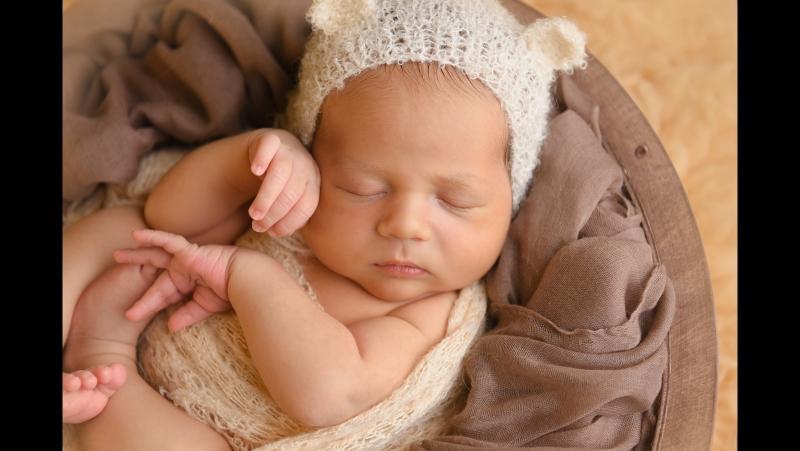 Фотостудия новорожденных Карамель
