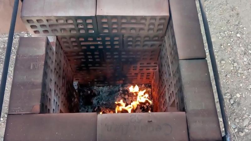 Испытания Все сгорело Дыма мало быдо Катализатор работает Вечная должна быть