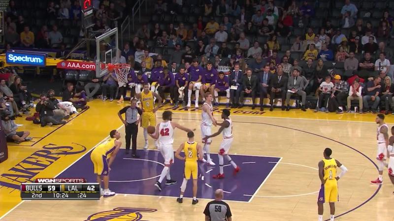 NBA 2017-2018 / 21.11.2017 / Chicago Bulls vs Los Angeles Lakers