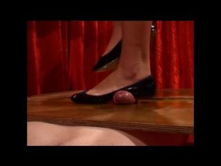 Cock crushing shoejob, nicki minajsexvideo