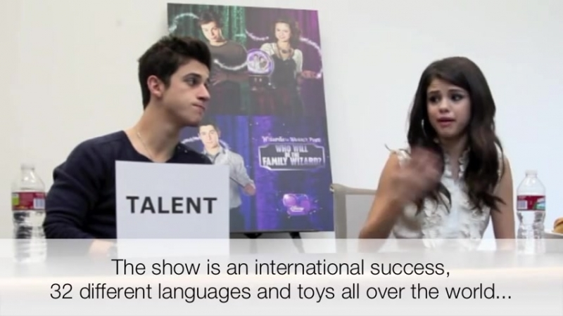 Interview with Selena Gomez and David Henrie Wizards of Waverly Place exclusive
