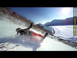 ЭКСТРЕМАЛЬНЫЙ СНОУБОРДИНГ ★ Travis Rice - сноуборд фристайл и фрирайд, спуск с г