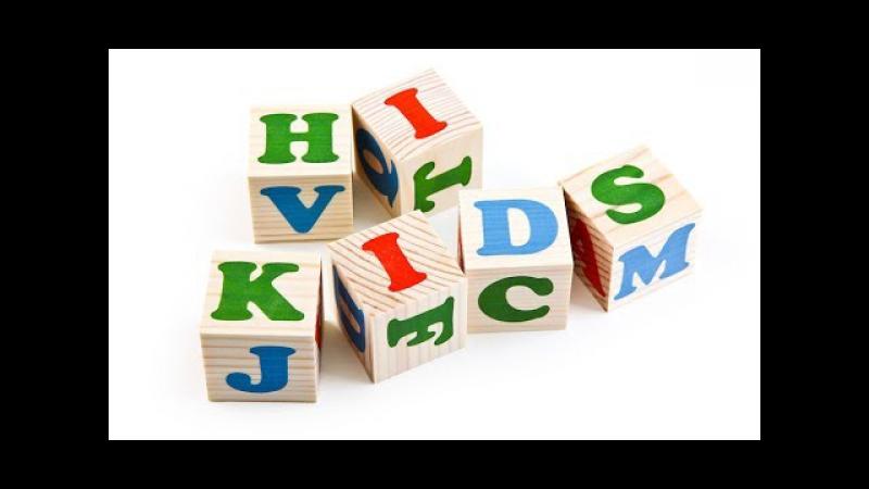 Видео обзоры игрушек - Деревянные кубики. Изучаем английский алфавит. THOMAS