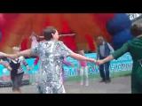 Богиня с песней Маруся на Дне города Пестово. Шипковская Ярмарка 2017