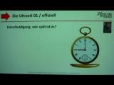1.22 Deutsch lernen A1 Die Uhrzeit 01 offiziell