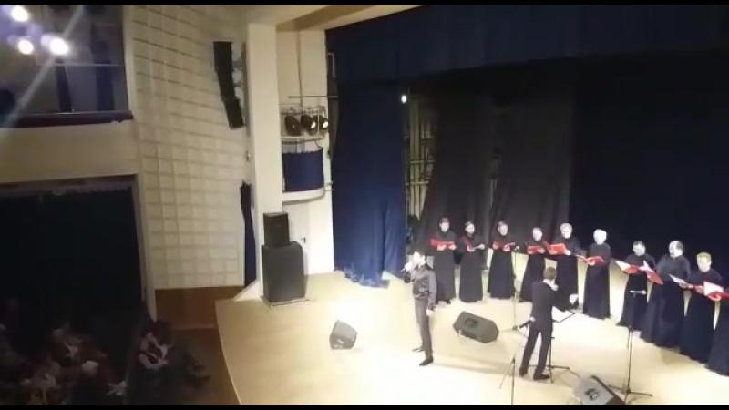 Евгений Кунгуров с хором Заиконоспасского монастыря «Благозвонница»