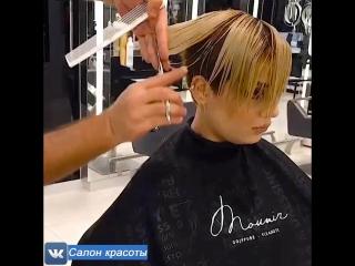 Этот парикмахер творит нереальную красоту