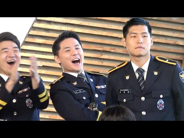 170916 광교 호수공원 마당극장 가족사랑 걷기대회 경기남부경찰 홍보단 마술 관