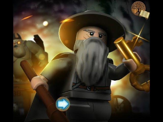 Lego: The Lord of the Rings - прохождение32 - Приручение Голлума