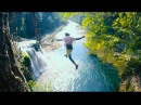 CLIFF JUMPING OFF AMERICAS MOST BEAUTIFUL WATERFALLS pt1 4K