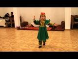 Узбекский танец. АИДА 5 лет. Санкт-Петербург 11.10.15 г.