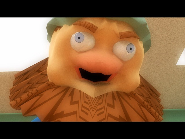 Дядя Страхуев и пожарная тревога 3D пародия на Спасаева